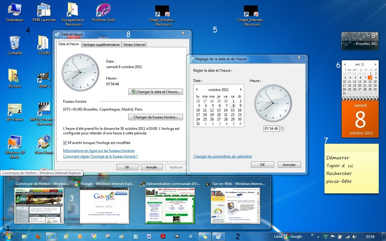 Chap 2 windows 7 for Windows 7 bureau vide