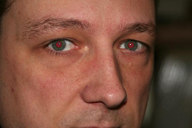 Module 1 initiation 12 corriger les yeux rouges for Interieur yeux rouge