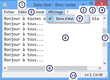 Module 1 initiation la fen tre windows for Agrandir fenetre windows