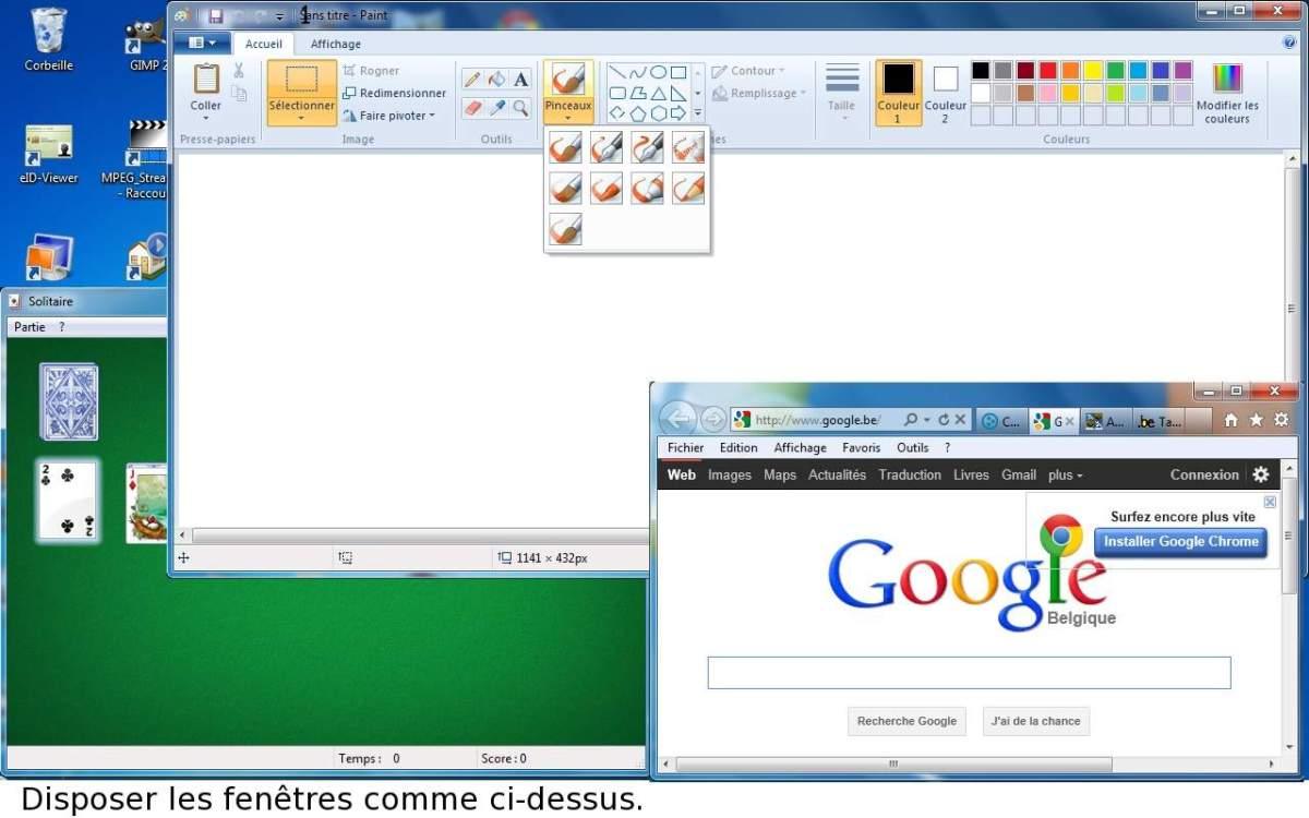 Module 2 le syst me d 39 exploitation windows 7 seven for Fenetre windows xp