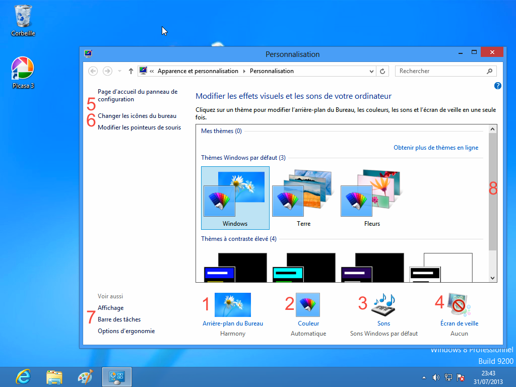 Module 2 le syst me d 39 exploitation windows 8 6 2 l for Bureau windows 8