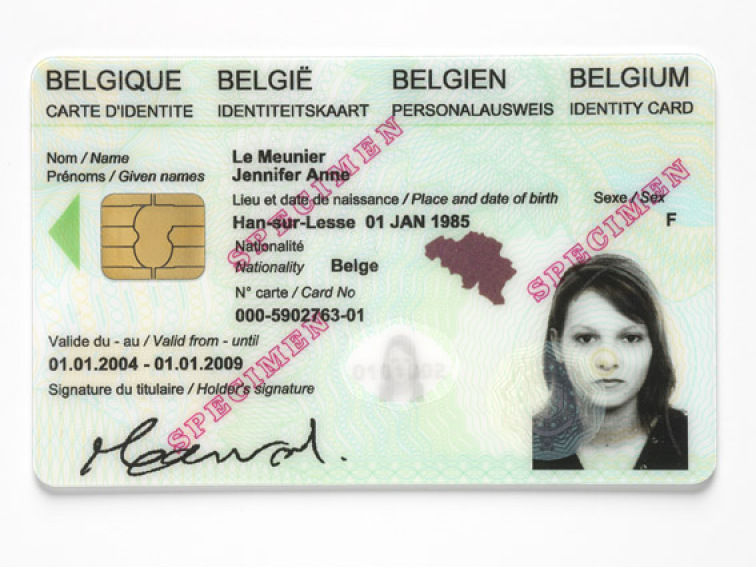 Carte Identite Belgique.Module 2 Internet 4 5 La Carte D Identite Electronique