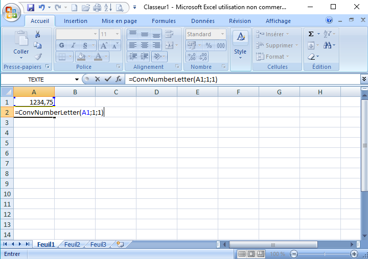 Module 3 Bureautique Excel Calc Bases 5 2 Convertir Un Nombre
