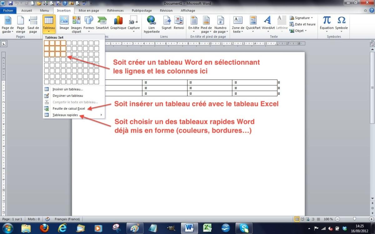 module 3 bureautique   word 2010 - writer 3 et 4  bases