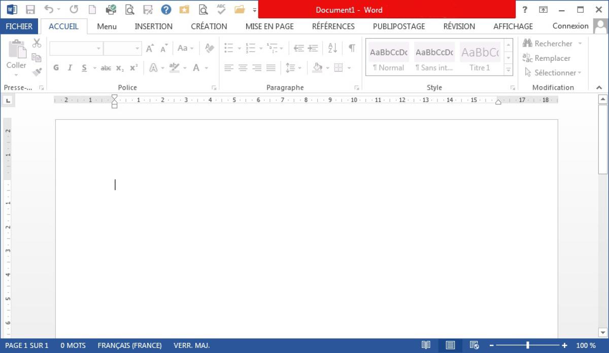 Module 3 bureautique word 2010 writer 3 bases for Fenetre word 2013