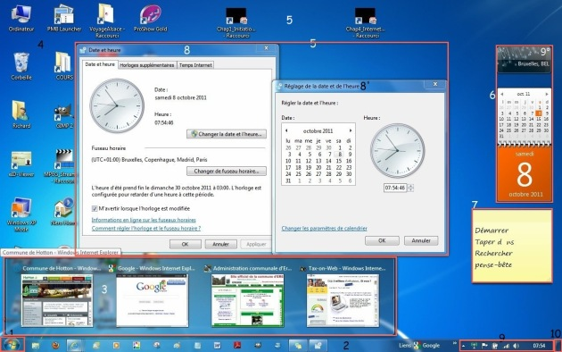 Fenêtre Windows 7
